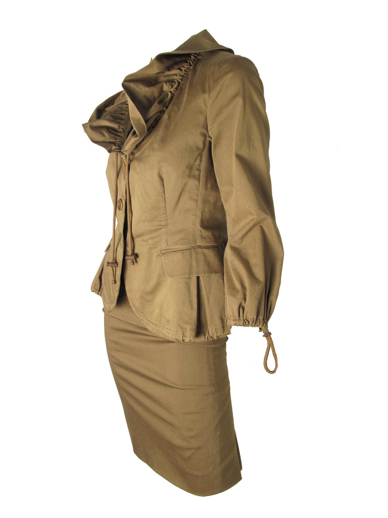 MOSCHINO Drawstring Suit