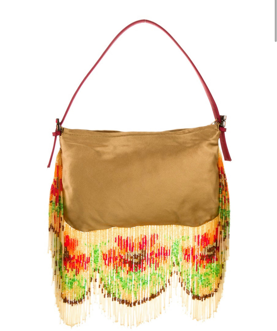 RENAUD PELLEGRINO BEADED BAG