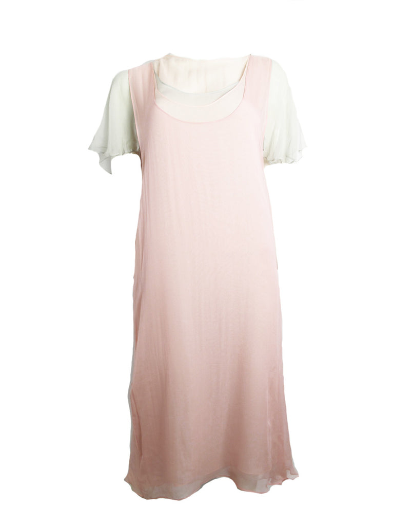 Vintage SANT ANGELO chiffon dress
