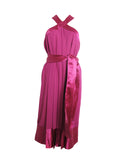 1980s PIERRE CARDIN silk dress