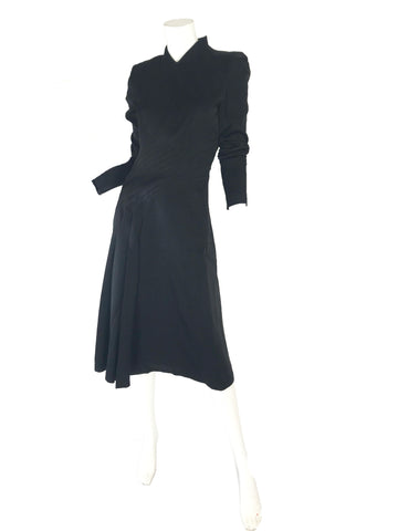 1990s JOHN GALLIANO Seams Dress