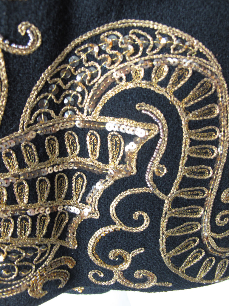 Sequin Dragon Coat