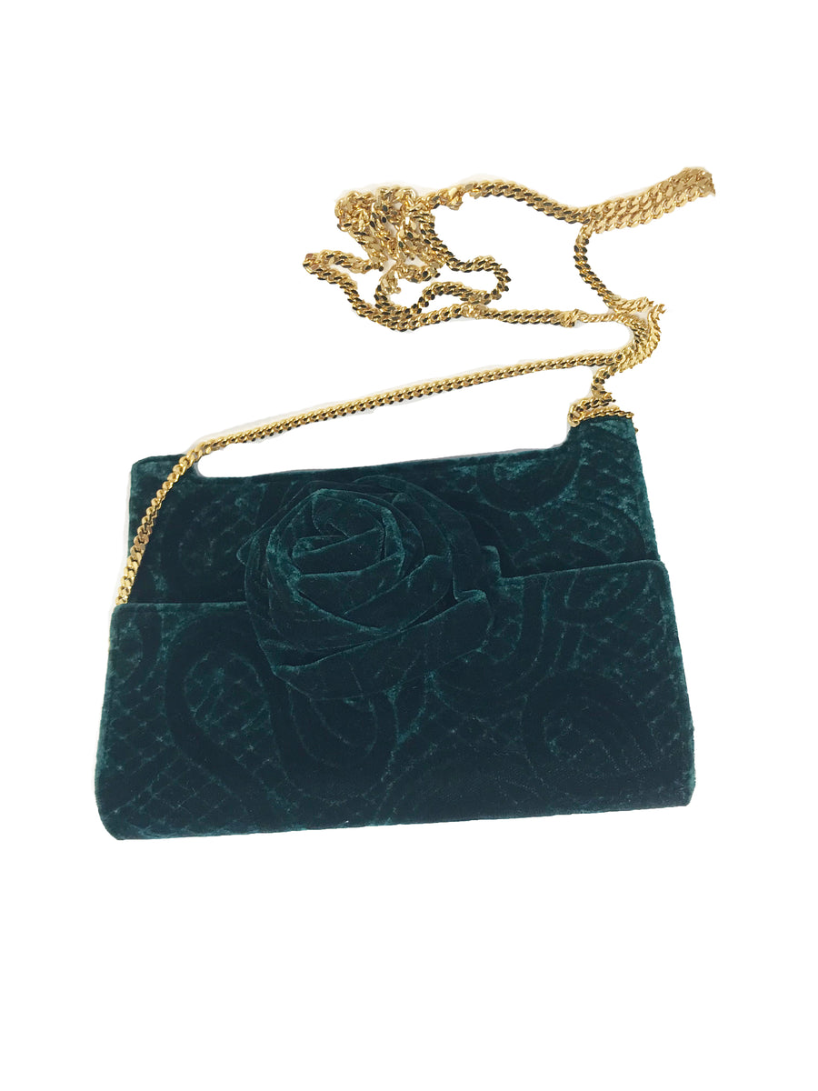 1988 CAREY ADINA velvet bag