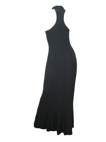 1980s MONTANA gown with fringe