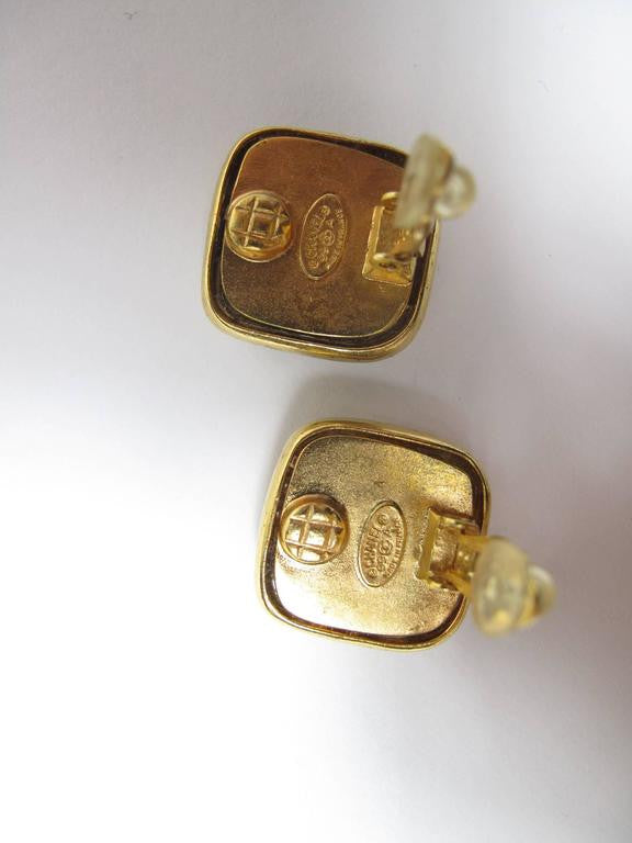 "Chanel 1999 ""CC"" Earrings"