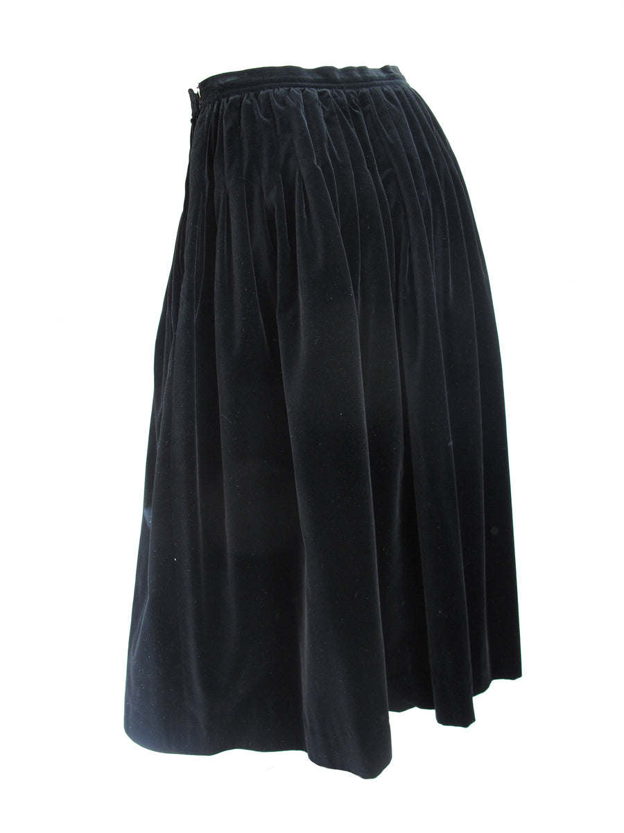YVES SAINT LAURENT Velvet Skirt