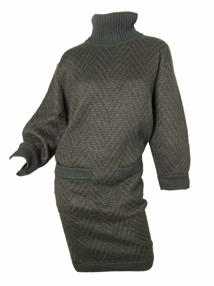 Vintage ALAIA sweater dress