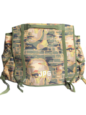 JEAN PAUL GAULTIER Xtra Large Printed Backpack