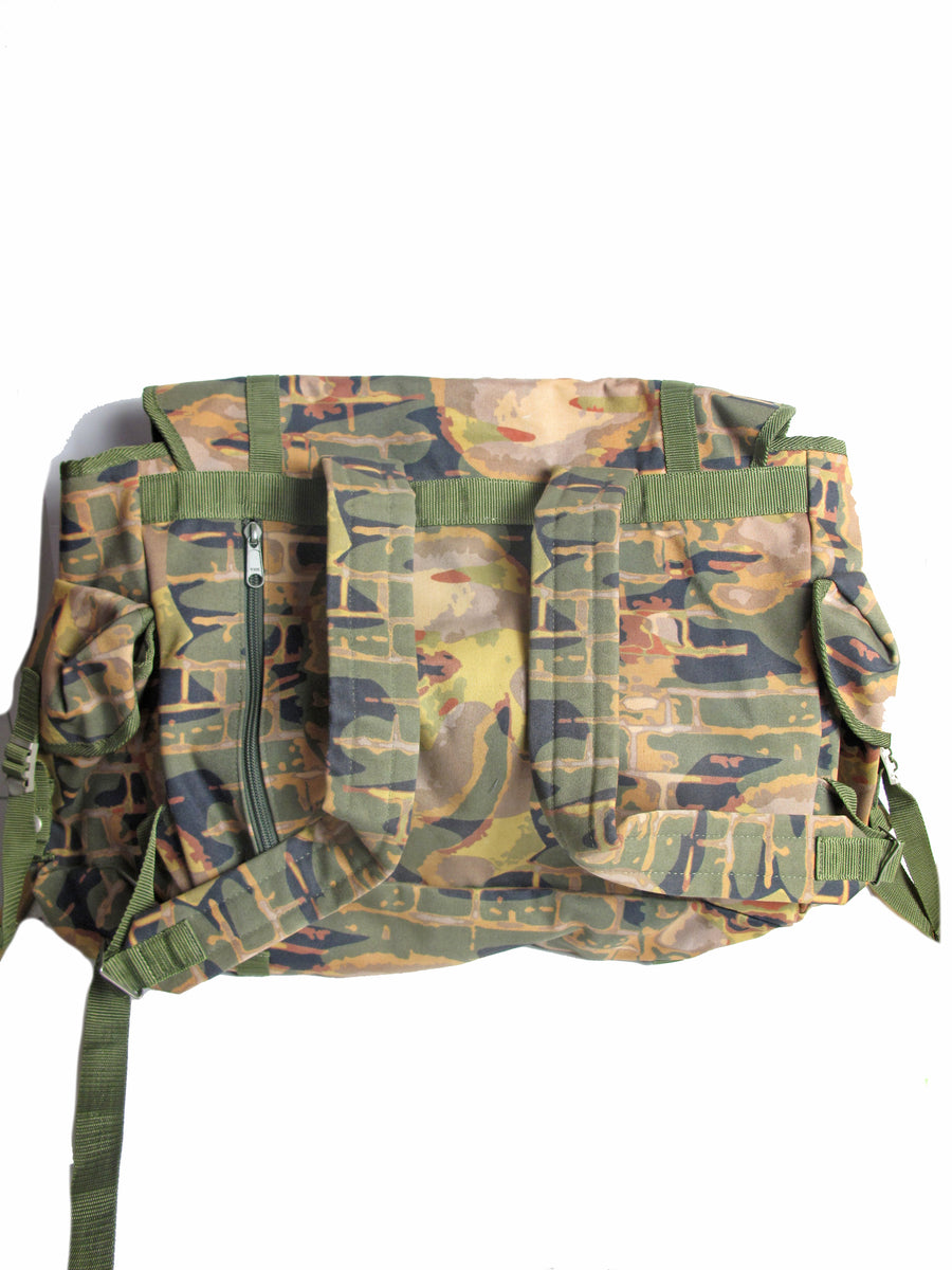 Rare JEAN PAUL GAULTIER Xtra Large Printed Backpack