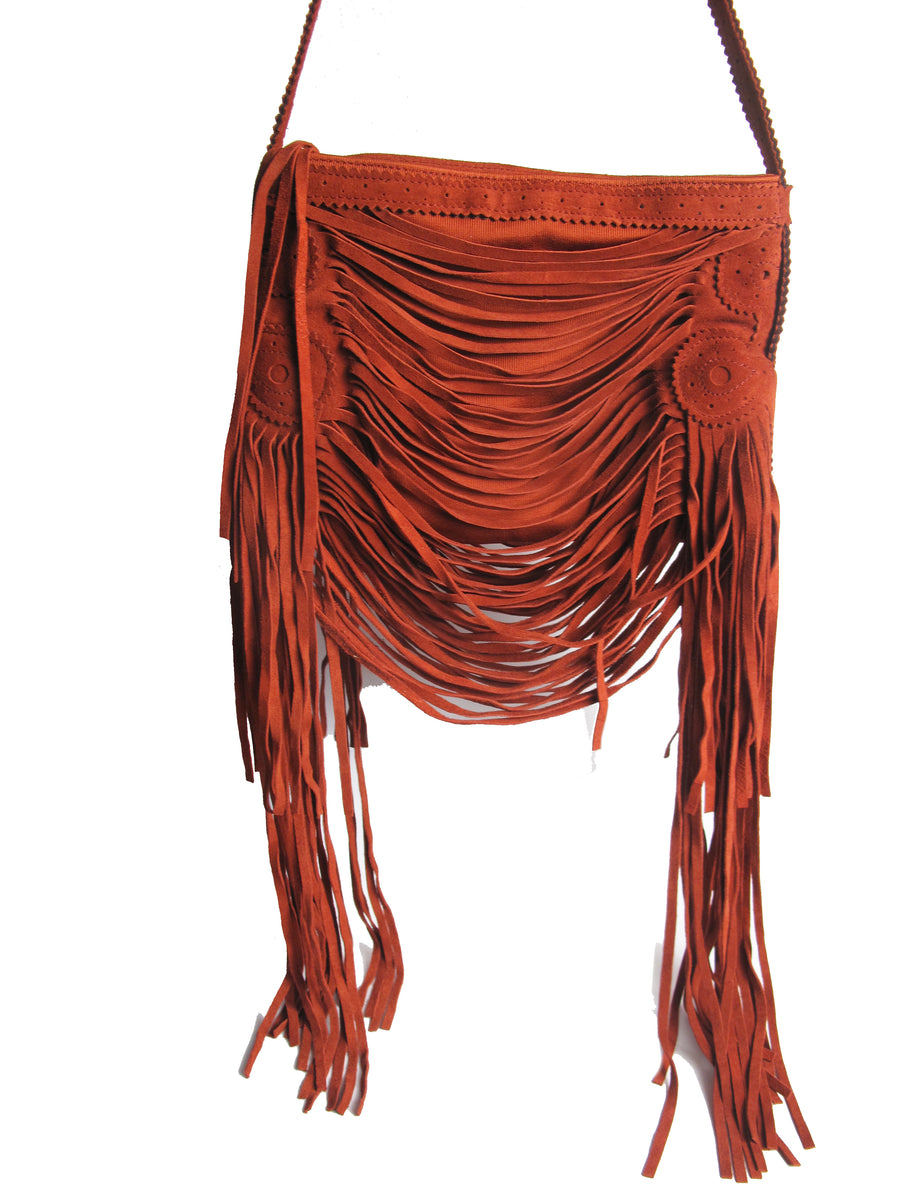 JEAN PAUL GAULTIER Fringe Shoulder Bag