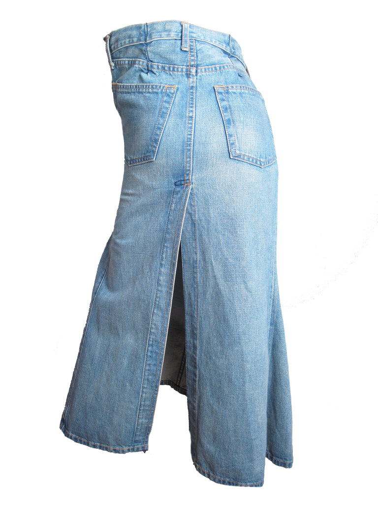 800c15d490 JUNYA WATANABE denim twisted skirt – ARCHIVE