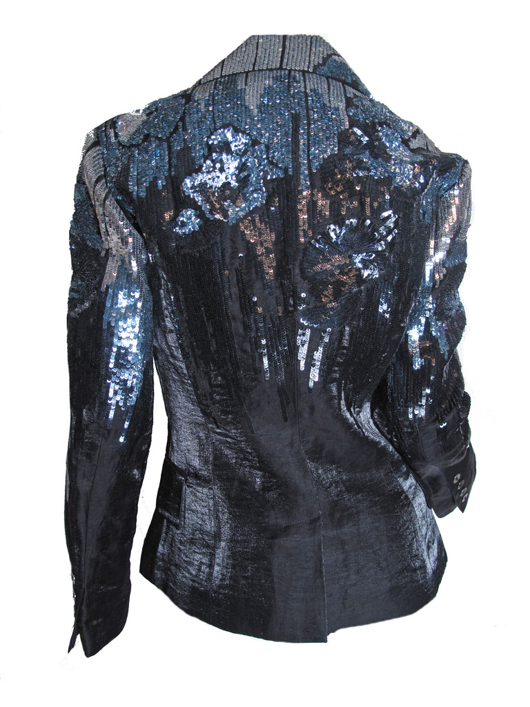 GALLIANO Sequin Blazer