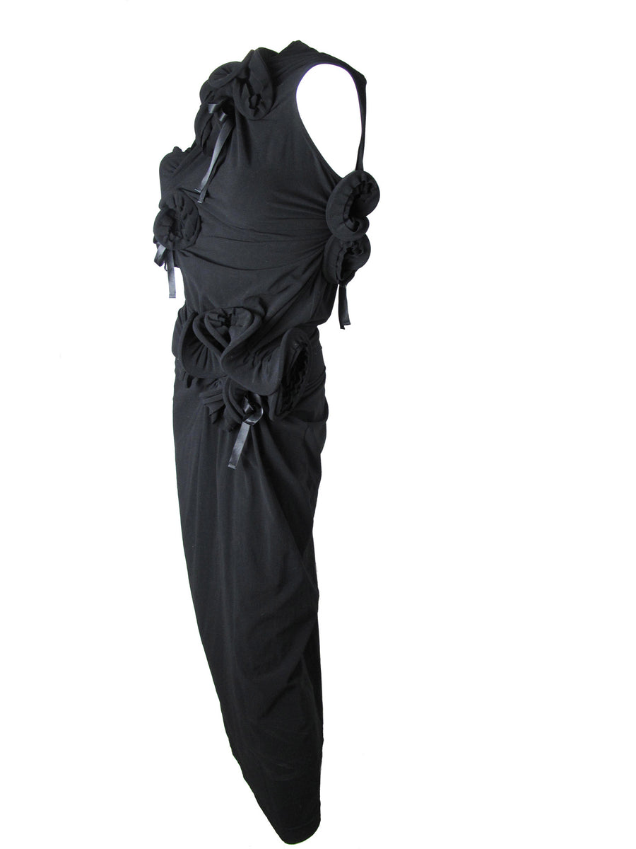 COMME de GARCONS knotted ring dress c. 2007