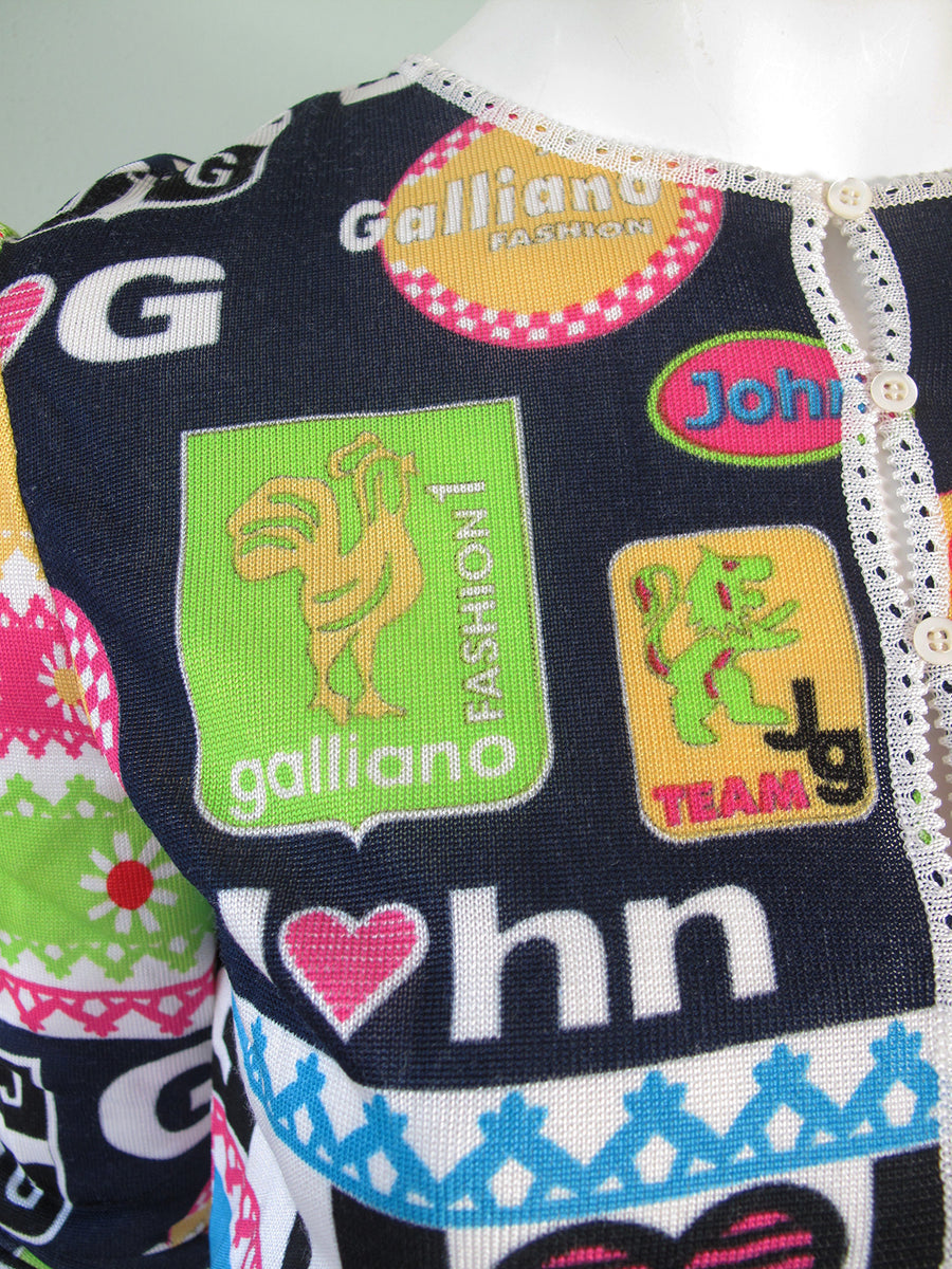 JOHN GALLIANO cardigan