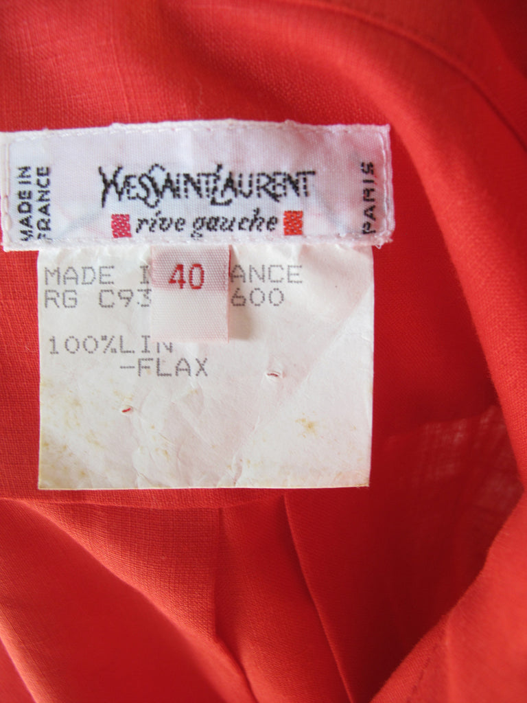 YVES SAINT LAURENT Tunic