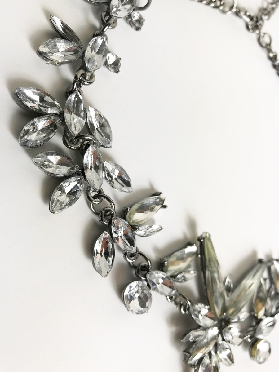 OSCAR de la RENTA Crystal Necklace