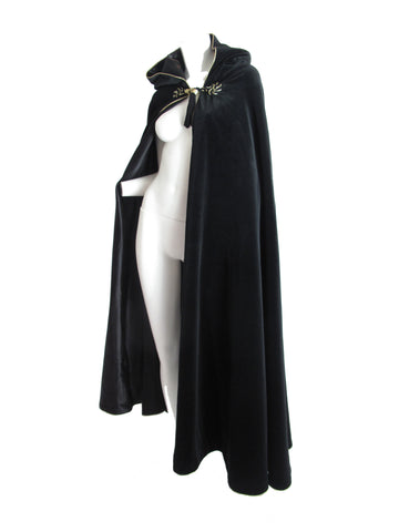YVES SAINT LAURENT Velvet Tassel Cape