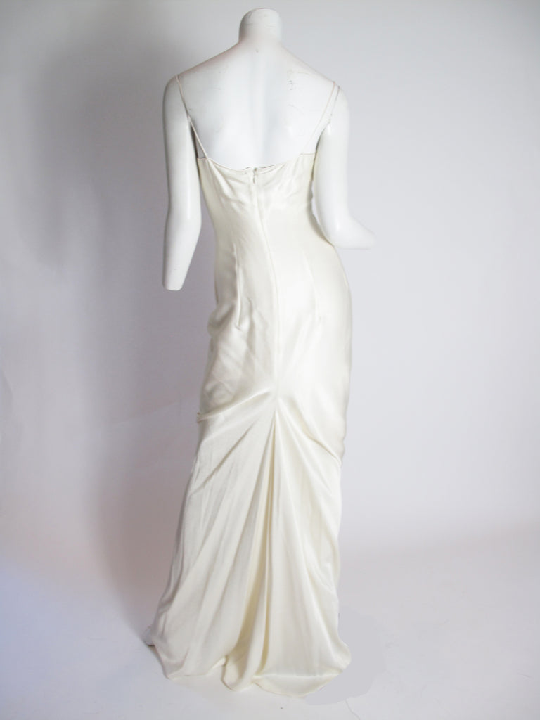 JOHN GALLIANO Silk Slip Dress