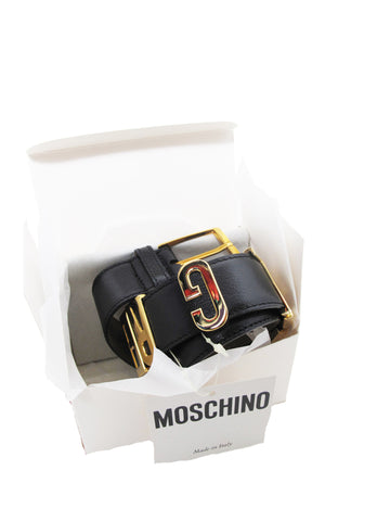 "1990s MOSCHINO ""I feel great"" belt"