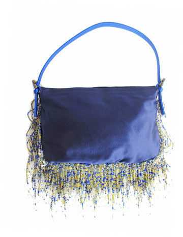 RENAUD PELLEGRINO Beaded Fringe Bag