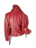 Vintage CLAUDE MONTANA Leather Jacket