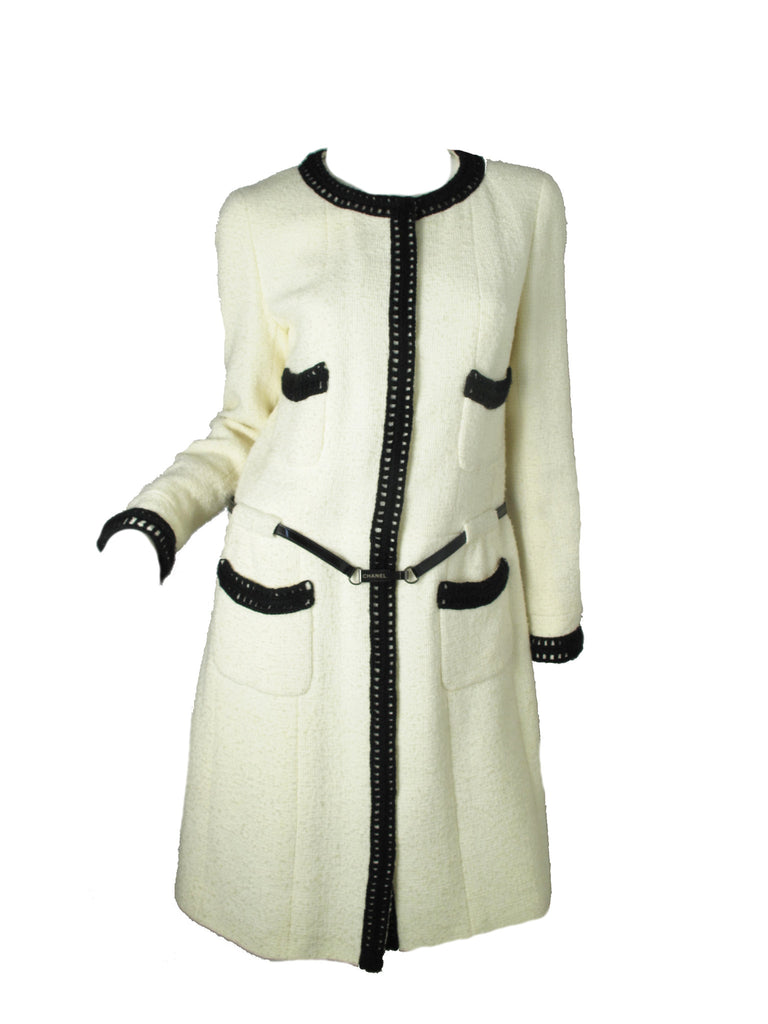 CHANEL Coat Dress