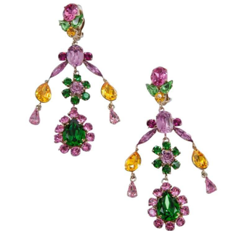 1990s Philippe Ferrandis Earrings