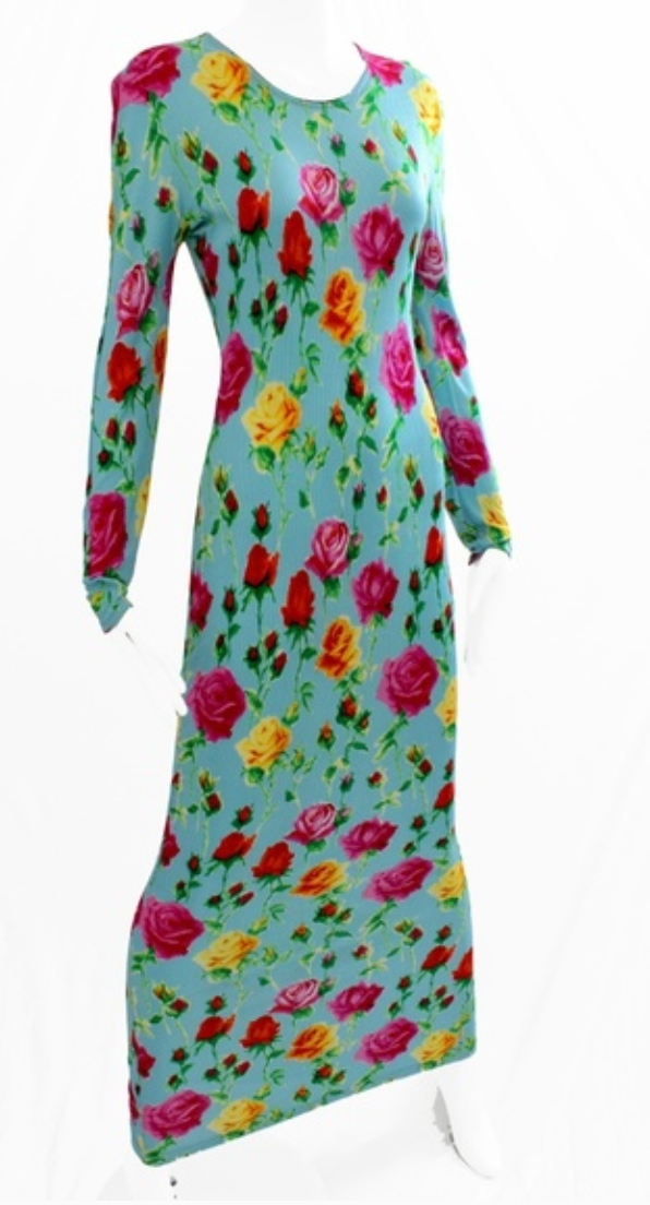 1995 GIANNI VERSACE FLORAL