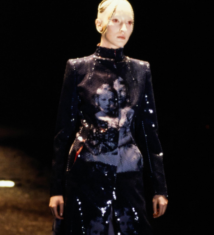 1998 ALEXANDER MCQUEEN Romanov Children Sequin Top