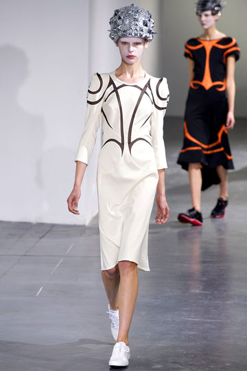 Junya Watanabe Runway Dress with Mesh