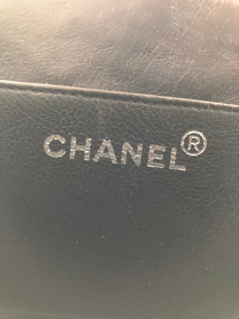 CHANEL Patent Box Bag, 1990s
