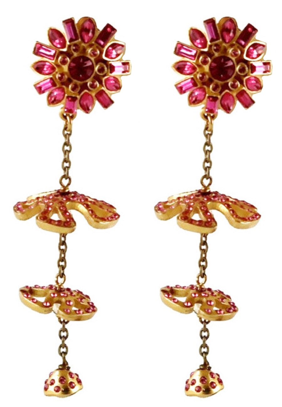 CHRISTIAN LACROIX Tiered earrings