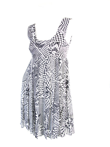VERSUS Printed dress