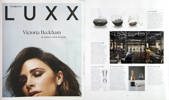 LUXX Magazine features the 13° 60° 104°