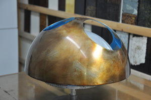 Japanese lacquer is applied to the 22° 36° 48° Bowl. The first layer of ki-urushi.