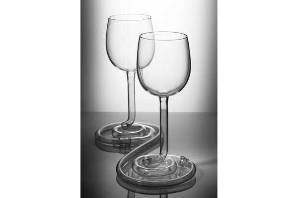 MY OTHER HALF - wine glasses. Photograph by Carlo Draisci