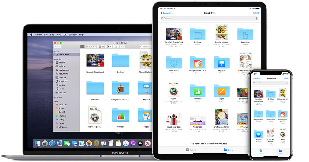 Comment configurer icloud sur iPad reconditionné  et iphone ?