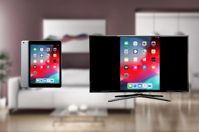 Comment connecter l'iPad reconditionné  à la tv sans câble ?