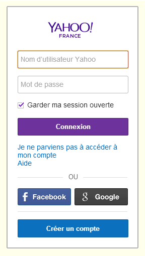Comment fermer une session yahoo sur iPad reconditionné ?