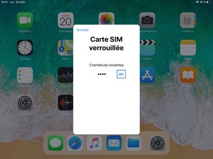 Comment changer le code pin d'un iPad reconditionné ?