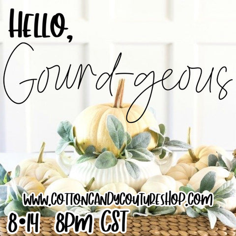 Shop the Drop • HELLO GOURD-GEOUS