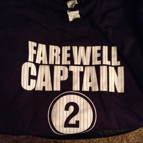 FAREWELL CAPTAIN Tee