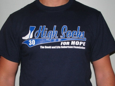High Socks for Hope D-Rob Tee
