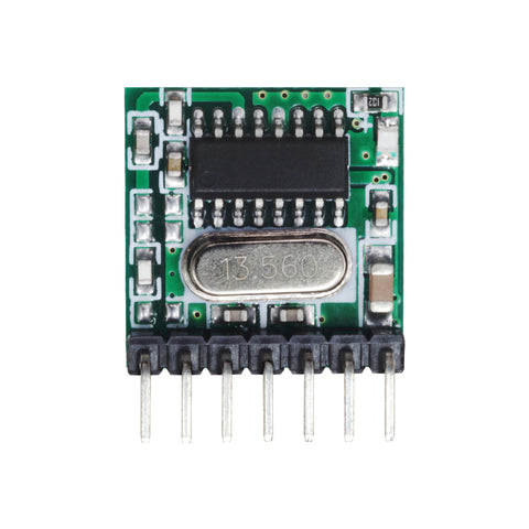 QIACHIP TX118SA transmitter module Instructions manual | wireless 433.92mhz rf module | 1527 learning code | superheterodyne receiver wireless decoding