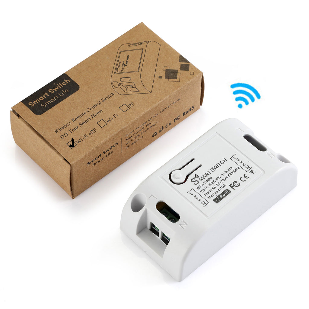 How to use ? Qiachip KR2201W Wireless Remote Switch user manual