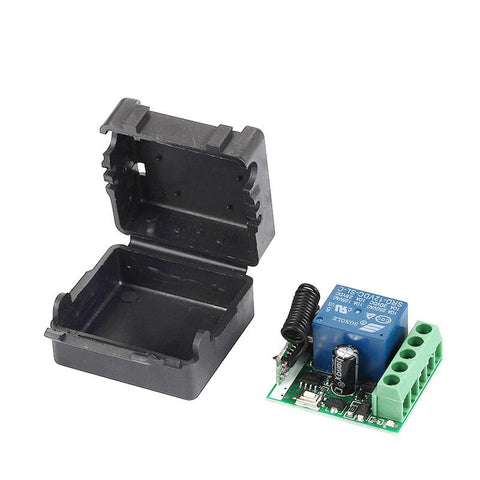 12V 1CH Universal Wireless Remote Control Switch Receiver Module and RF 433mhz Transmitter KR1201A