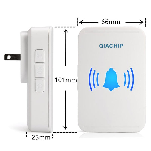 Qiachip Wireless Doorbell No Battery Required