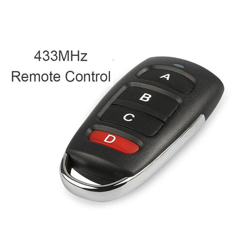 Qiachip 4 buttons RF 433MHz 1527 learning code  Remote Control Duplicator Gate Garage Door Opener KT16