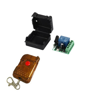 QIACHIP KT11+KR1201A| 433mhz remote transmitter and receiver | Universal | DC 12V 1CH switch