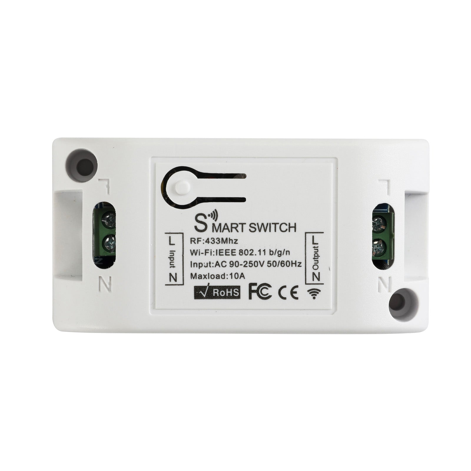 QIACHIP KR2201W  220V 1CH WiFi Smart Light Switches | Home Automation Google Home | 433MHz
